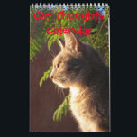 """Cat Thoughts Calendar<br><div class=""""desc"""">Wonder what cats are thinking? well here is a few ideas. For any person who loves the company of cats.</div>"""