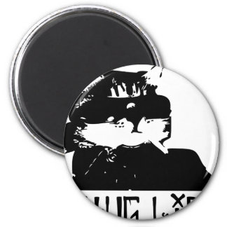 cat-thug-life-cholo 2 inch round magnet