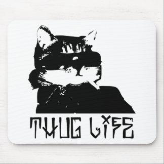 cat-thug-life-cholo mouse pad