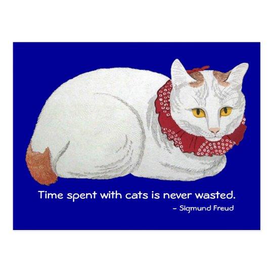 Cat Time Postcard