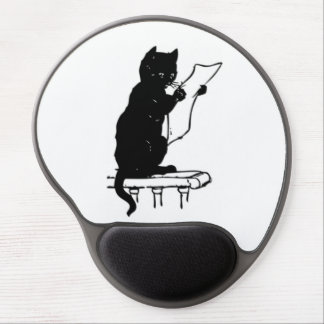 Cat To Do List Gel Mouse Pad