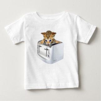 Cat Toaster Baby T-Shirt