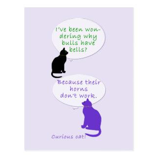Cat-toons Postcard