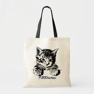 Cat Tote Bag Purrfection