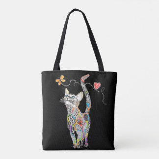 Cat Tote Bag (You can Customize)