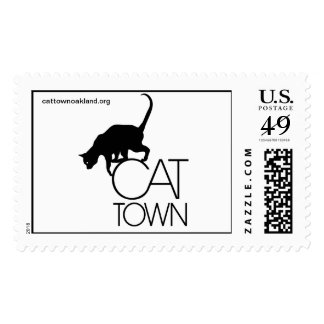 Cat Town Stamp