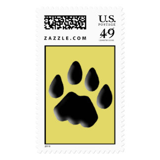 Cat Track Pawprint Stamps