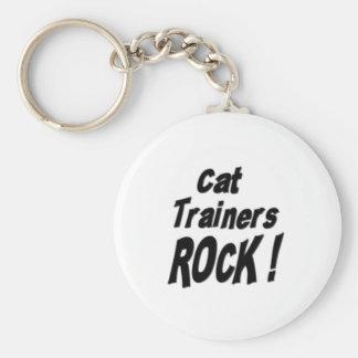 Cat Trainers Rock! Keychain