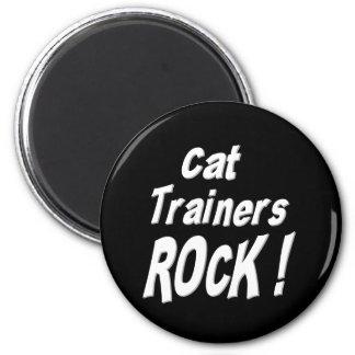 Cat Trainers Rock! Magnet