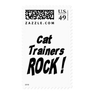 Cat Trainers Rock ! Postage