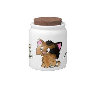 Cat Treats Candy Jars