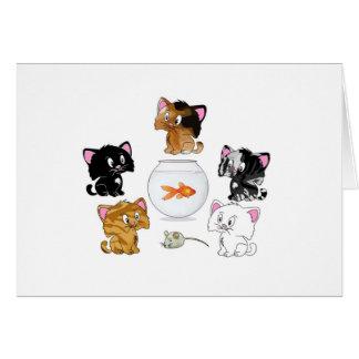 Cat Treats Card