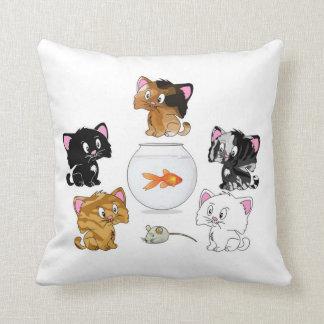 Cat Treats Pillow