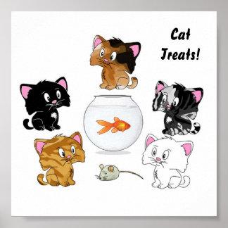 Cat Treats Poster