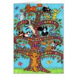 Cat Tree of Life 2 Card