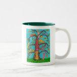 Cat Tree of Life Coffee Mugs