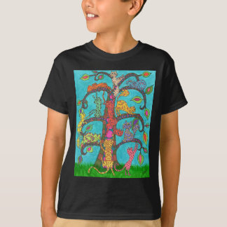 Cat Tree of Life T-Shirt