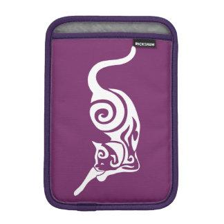 Cat Tribal Domestic Feline Stretch iPad Mini Sleeve