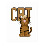 Cat Tshirts and Gifts Postcard