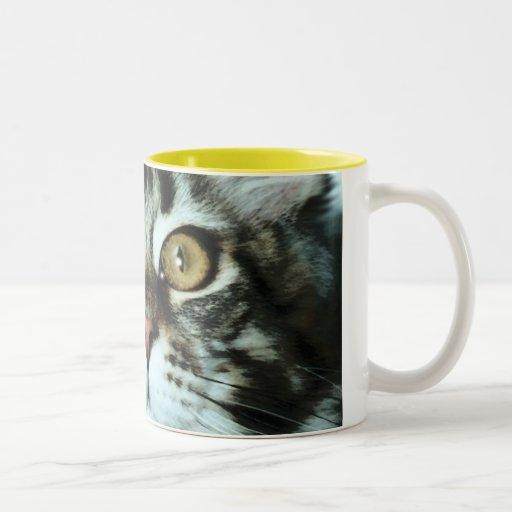 CAT Two-Tone COFFEE MUG