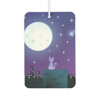 Cat Under The Moonlight Air Freshener