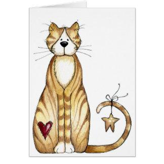 Cat - Valentine Card