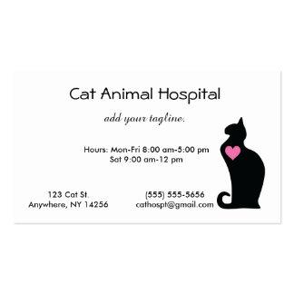 Cat Veterinarian Business Card