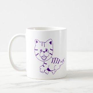 Cat Walk Coffee Mug