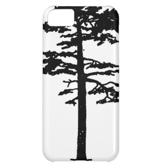 Cat Wang Scots Pine – Silhouette iPhone 5C Cover