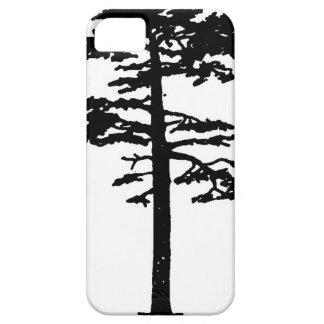 Cat Wang Scots Pine – Silhouette iPhone SE/5/5s Case