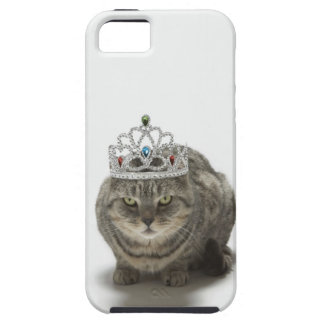 Cat wearing a tiara iPhone SE/5/5s case