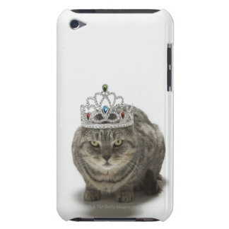 Cat wearing a tiara iPod touch cover