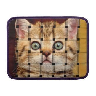 Cat Weave MacBook Air Sleeve