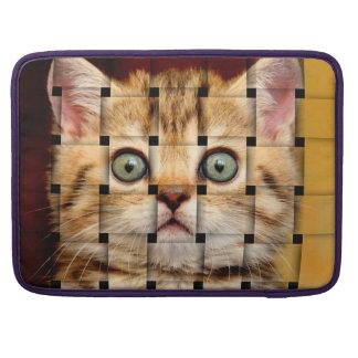 Cat Weave MacBook Pro Sleeve