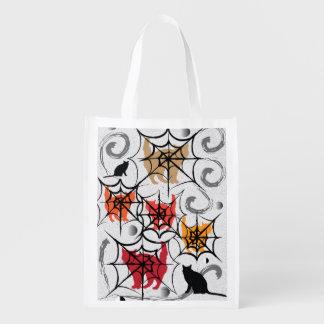 CAT web Reusable Grocery Bag