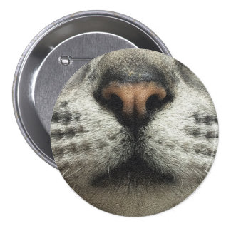 Cat Whisker Propellant-actuated device Ω Ω Ω Pinback Button