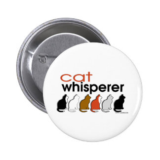 Cat Whisperer 2 Inch Round Button