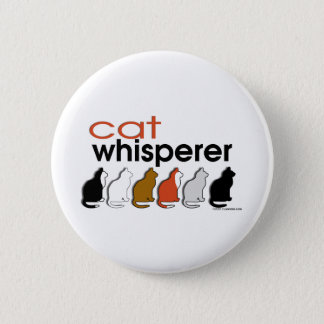 Cat Whisperer Pinback Button