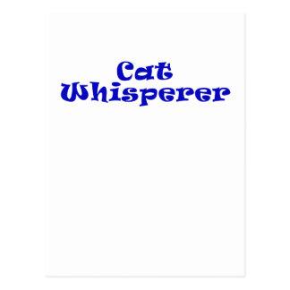 Cat Whisperer Postcard