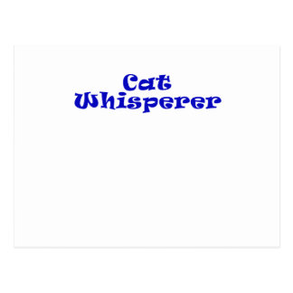 Cat Whisperer Post Cards