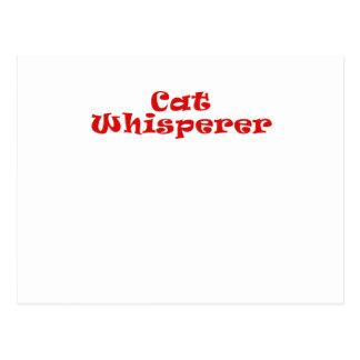 Cat Whisperer Post Card