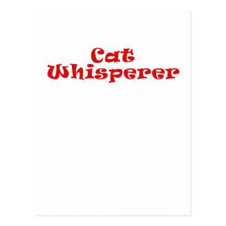 Cat Whisperer Postcards