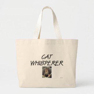 Cat Whisperer w/ Ollie Tote Bags