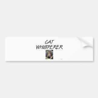 Cat Whisperer w Ollie Bumper Stickers