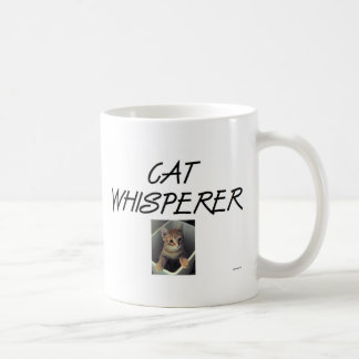 Cat Whisperer w/ Ollie Coffee Mug