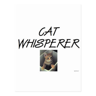 Cat Whisperer w/ Ollie Post Cards