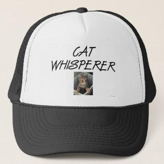 Cat Whisperer w/ Ollie Trucker Hat