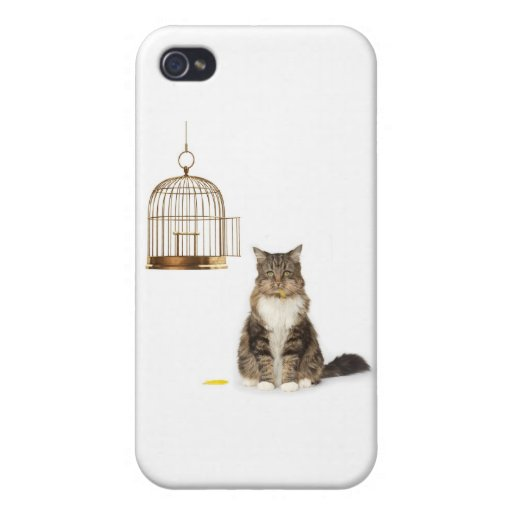 Cat Who Ate the Canary iPhone 4 Cases