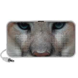 Cat Wild Puma Cougar Lion Animal Eyes Face Macro iPhone Speakers