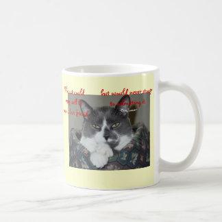 Cat Wisdom Coffee Mug